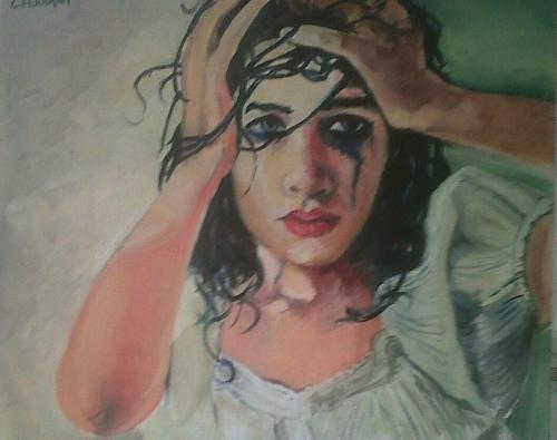 """""""Desperado"""" - olio su tela (35x45) collezione privata"""